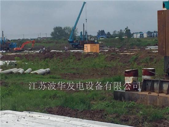 50KW、100KW潍坊机组发往周边工地-金牛湖使用