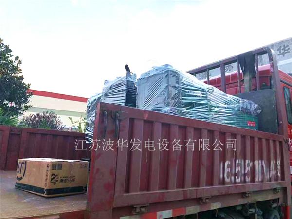 3台裕兴机组发往上海港口出口非洲