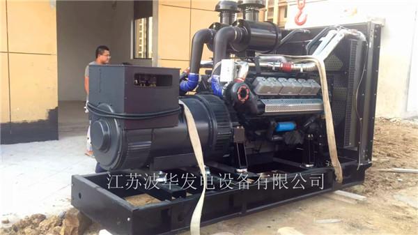 江苏发电机组厂家获得客户